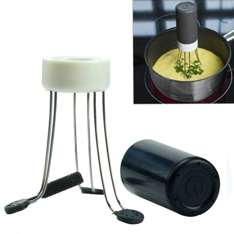 F85  Portable Automatic Hands Free Robo Kitchen Utensil Food Sauce Auto Stirrer New