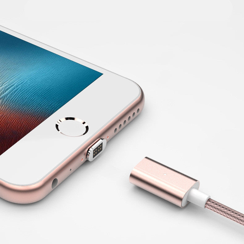 Magnetic Cable Nylon Fast Charger Braided Double Use USB Cable For Iphone 7  6s For Sony Android Fast Charging Magnetic Cable