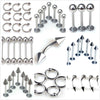 Stainless Steel Body Piercings  Jewelry 10 pcs Lots