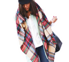 Exclusive Sale Imitation Cashmere Design Plaid Blanket Scarf by More Stuff I Like - More Stuff I Like