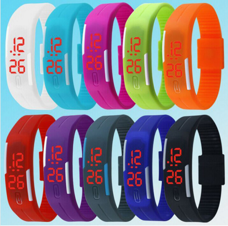 New Fashion Touch Screen LED Bracelet Digital Watches     ( FREE SHIPPING ) - More Stuff I Like