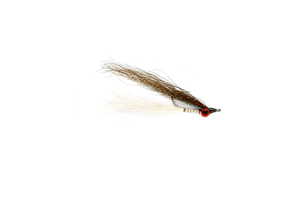 Clouser Minnow Olive/White
