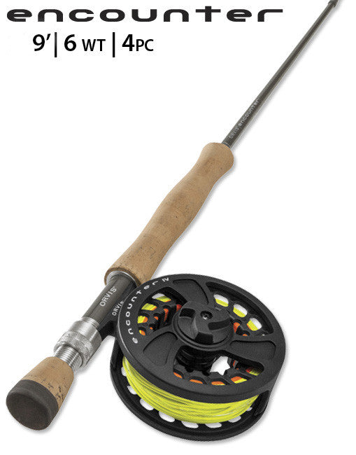 ORVIS ENCOUNTER 9ft 6wt - 4pc OUTFIT
