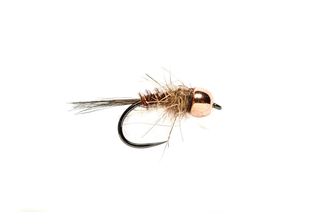 Barbless Pheasant Tail Mary - Tungsten Beadhead
