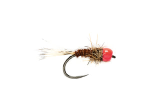 Barbless SR Pink Head Mary - Tungsten Beadhead