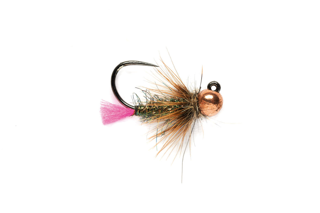 Barbless Pink Tag Jig