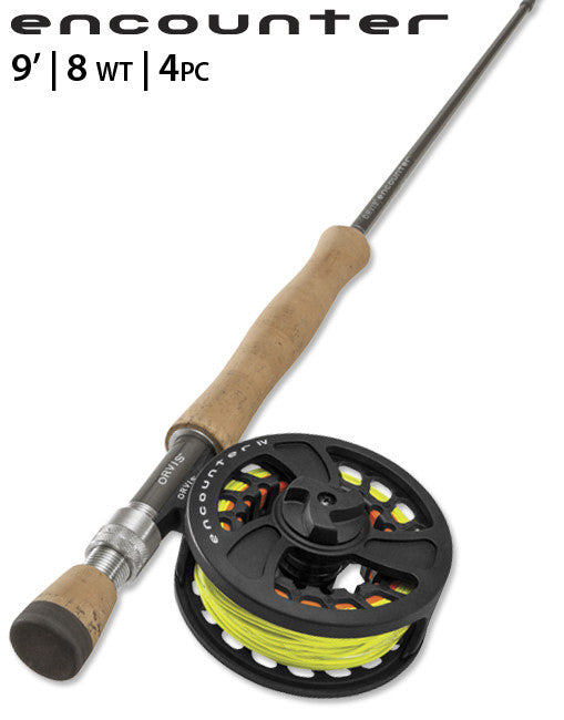 ORVIS ENCOUNTER 9ft 8wt - 4pc OUTFIT