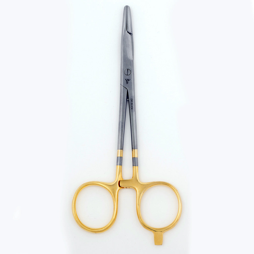 Dr. Slick Scissor Clamp 1/2 Smooth & 1/2 Cross Hatch Jaws