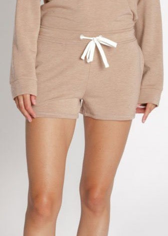 Unwind Shorts - Brown Sugar