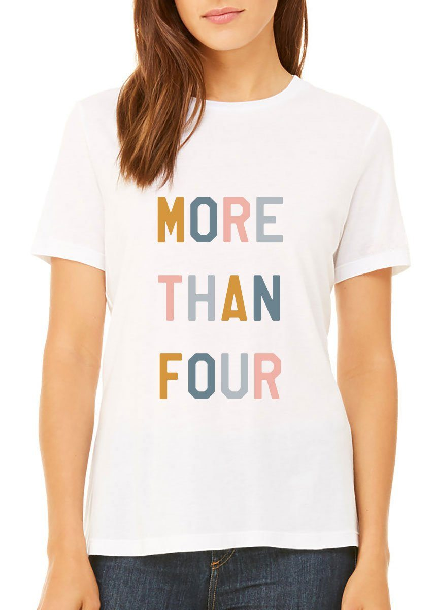 More Than Four Pediatric Cancer Adult Tee