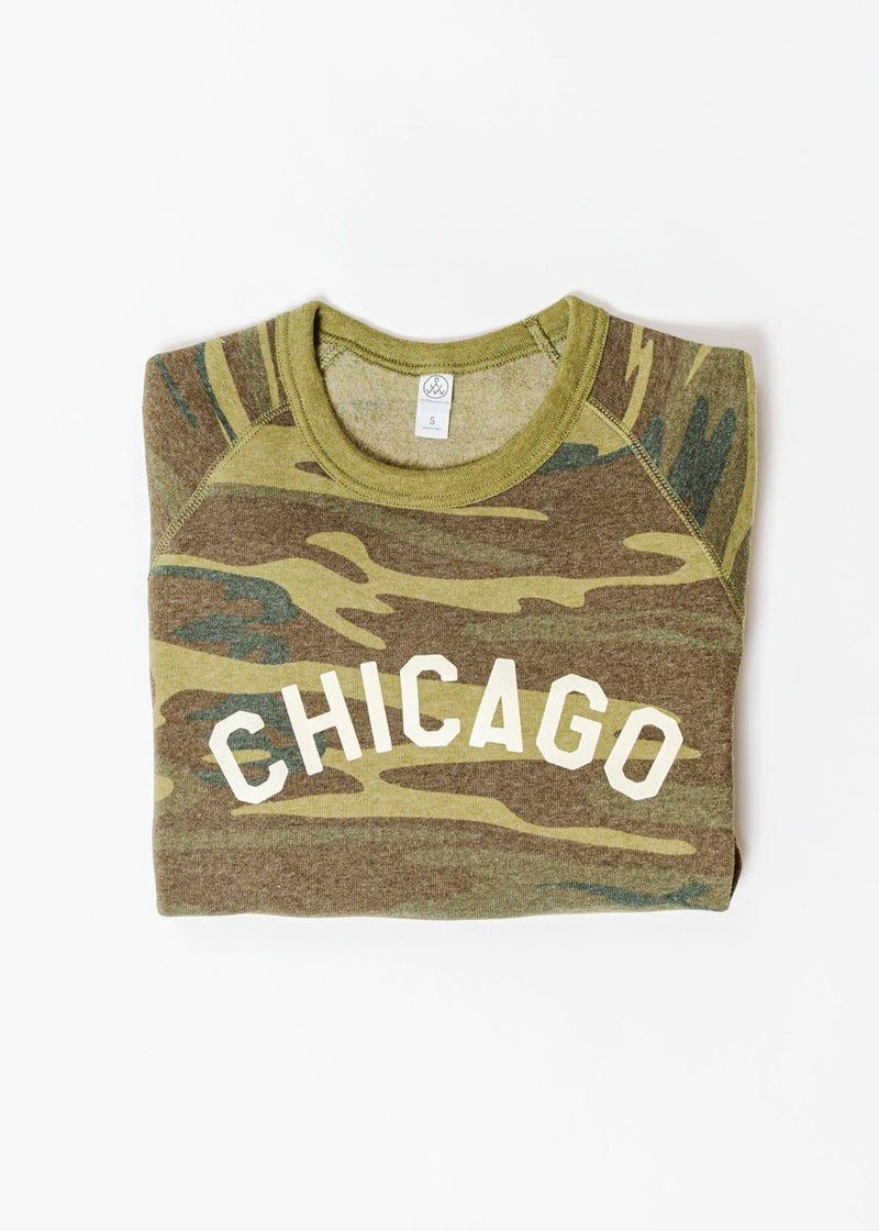 Sweet Home Chicago Sweatshirt - Camo