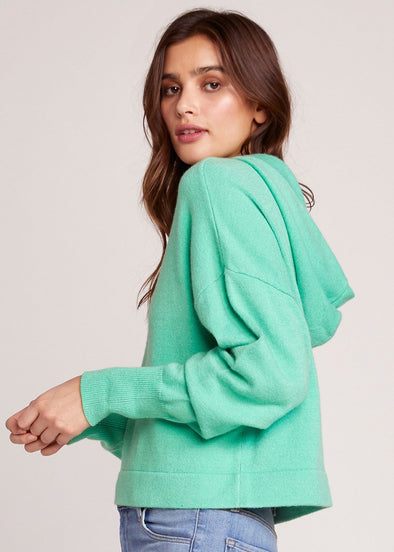 All Hood Things Cropped Sweater - Misty Jade
