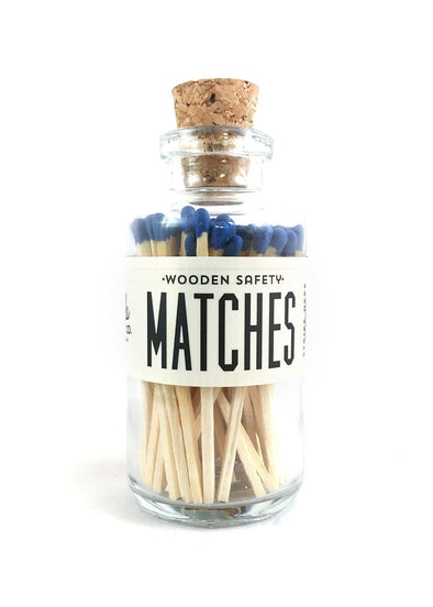 Apothecary Matches - Blue