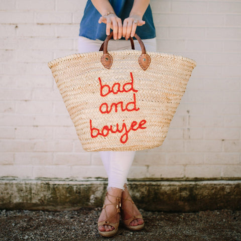 Bad and Boujee Beach Tote