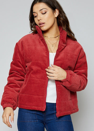Bang Bang Corduroy Down Jacket
