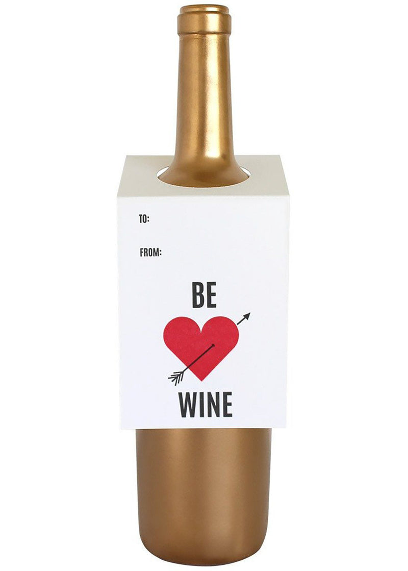 Be Wine Wine Tag