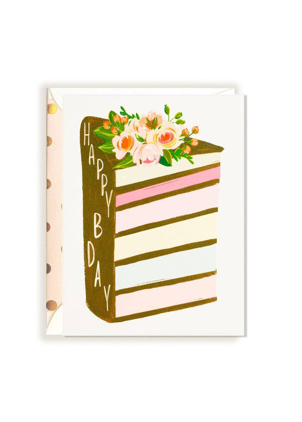 Birthday Layer Cake Card