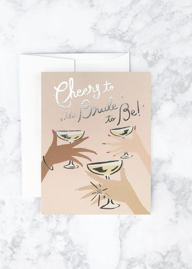 Cheers to the Bride Card