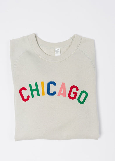 Sweet Home Chicago Sweatshirt - Light Grey