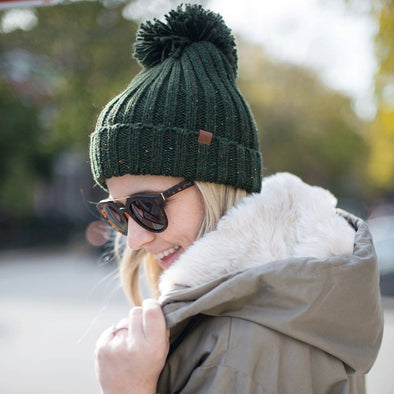 Turner Knit Beanie - Hunter Green