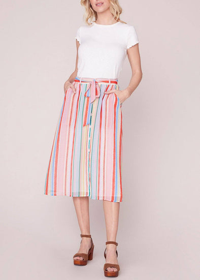 Color Me Softly Midi Skirt
