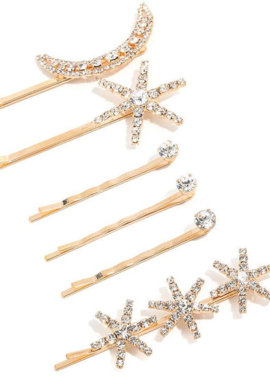 Constellations Hair Pin Set - Gold