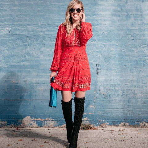 Coryn Mini Dress - Red