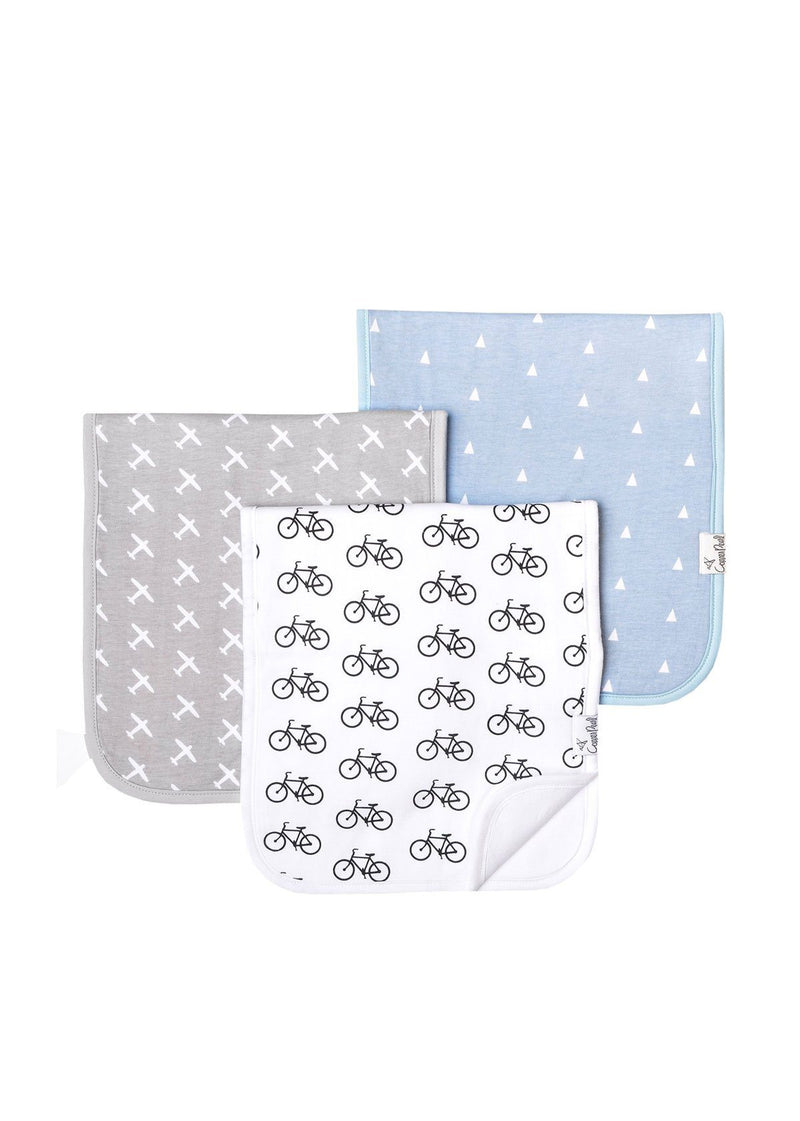 Cruise Burp Cloth Set - 3-Pack