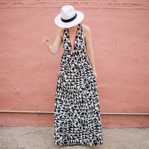 Dakota Pattern Maxi Dress