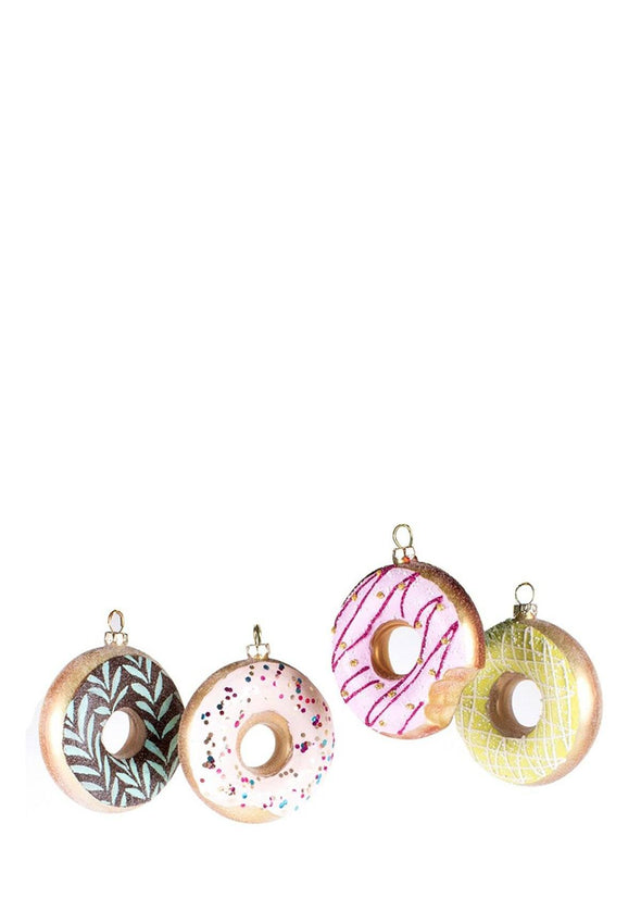Donut Ornie Set Of 4