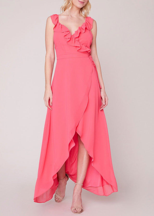 Formation Cross Back Maxi - Hot Pink
