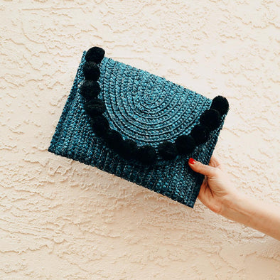 Fortuna Clutch - Navy