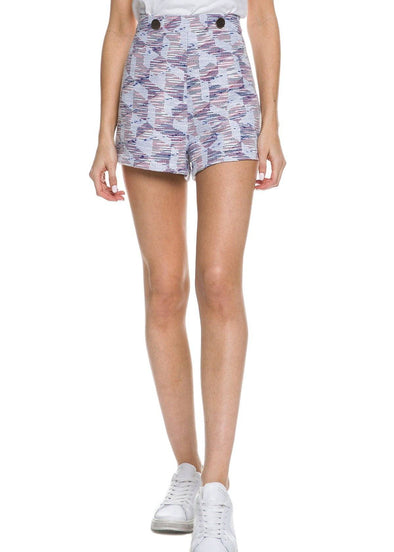 Gracen Patterned Shorts