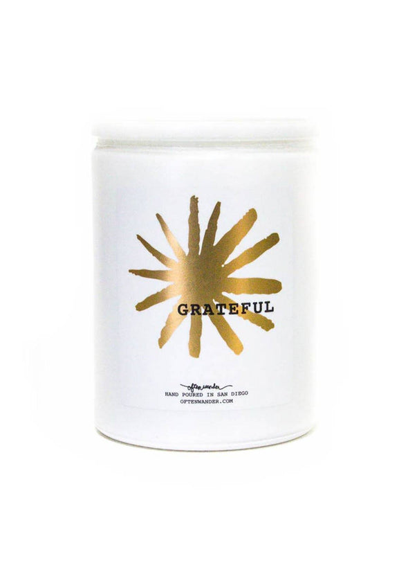 Grateful Wander Candle - 12 oz
