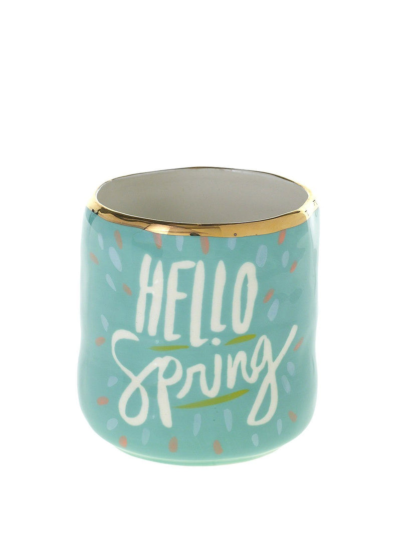 Happy Spring Pot