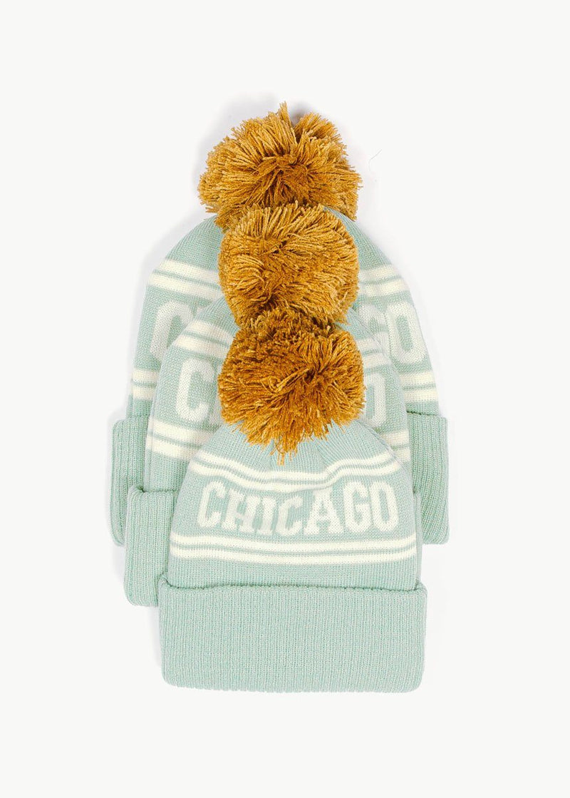 Youth Mad Hatter Chicago Beanie - Mint