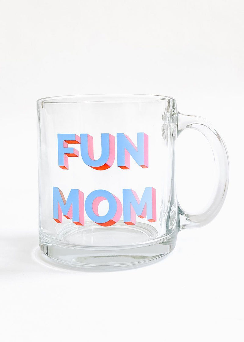 Taylor Wolfe X Alice & Wonder - Fun Mom Glass Mug