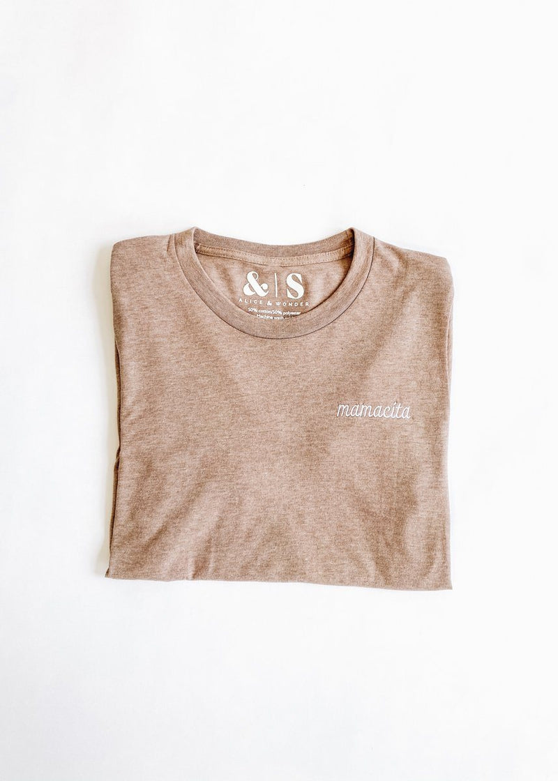Mamacita Embroidered Tee