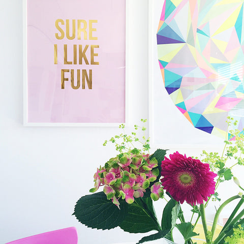 Sure I Like Fun Poster
