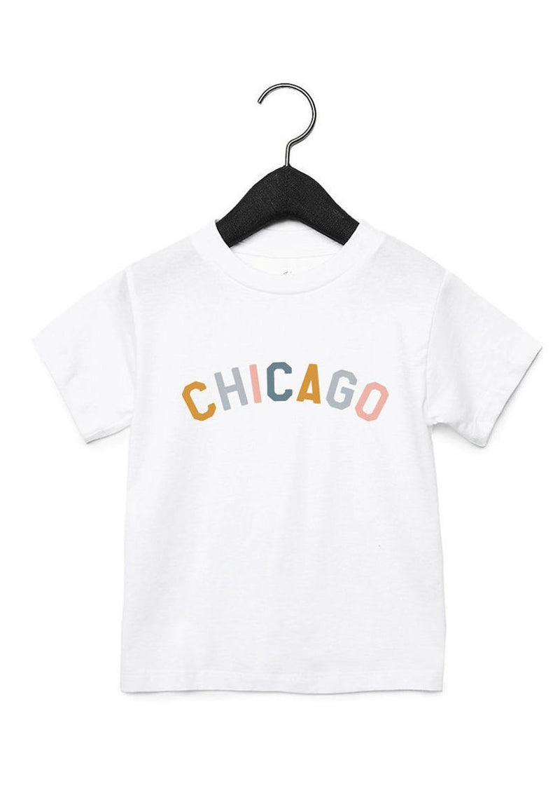 Pre-Order: Sweet Home Chicago Toddler Tee - Pediatric Cancer Edition