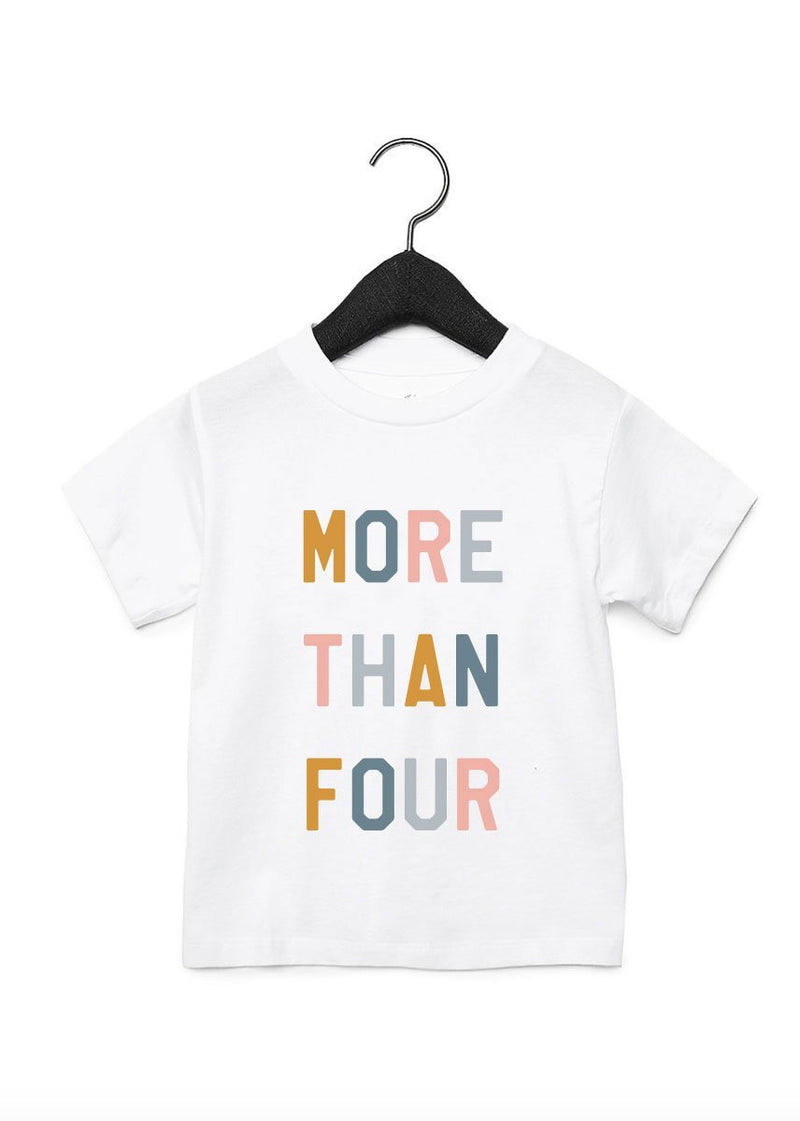 More Than Four Pediatric Cancer Toddler Tee