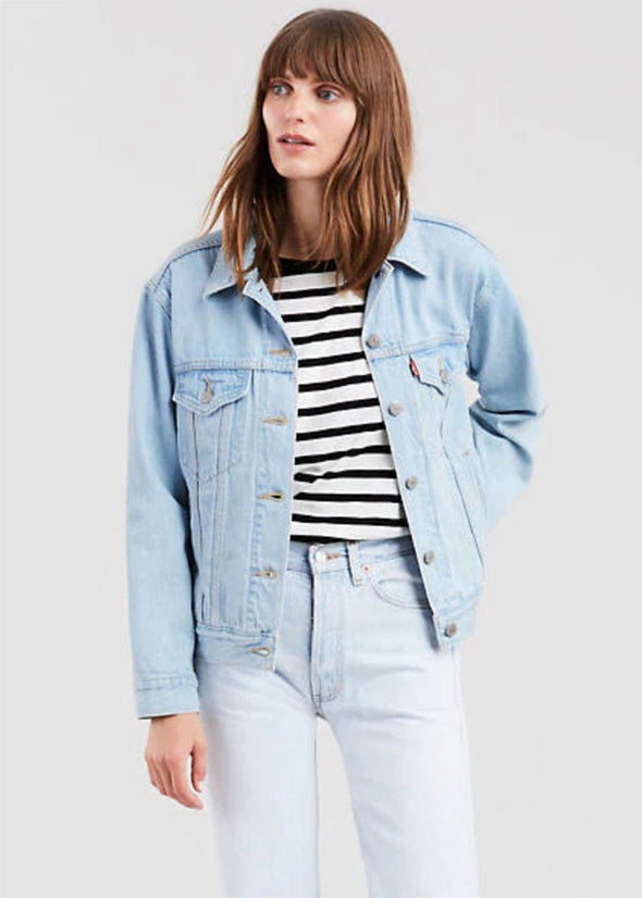 Levi's Ex-Boyfriend Trucker Jacket - Soft As Butter