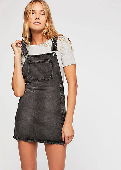 Louise Denim Skirtall - Rocky Mountain