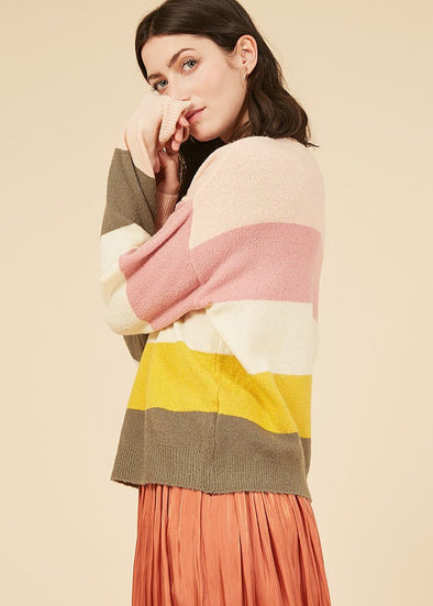 Natan Stripe Sweater