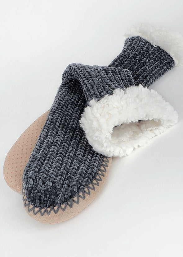 Not Your Mama's Plush Slipper Bootie