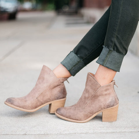 Ollie Brown Booties