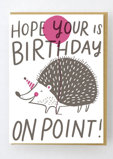 On Point Birthday Card