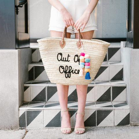 Out of Office Beach Tote