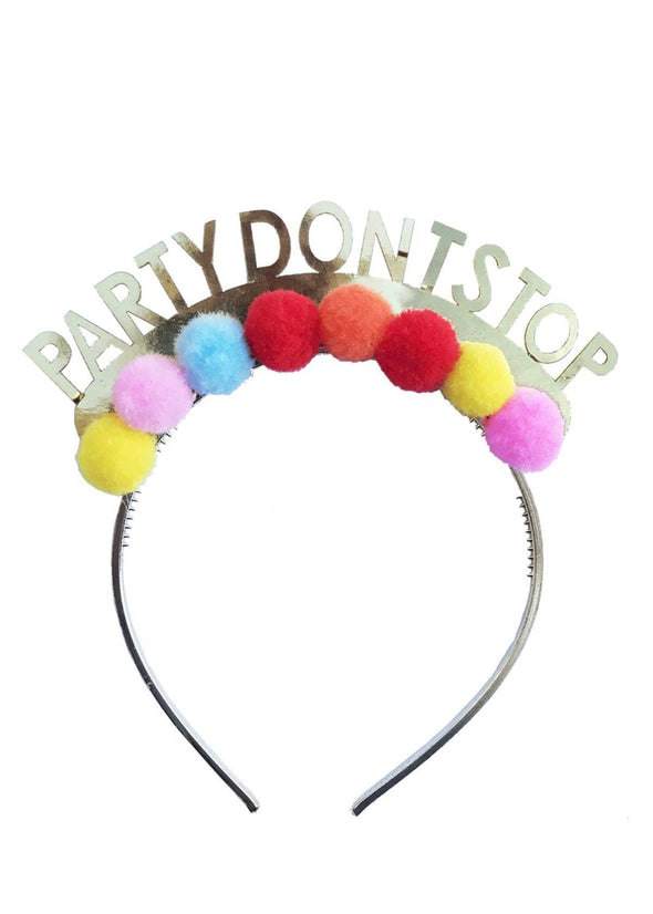 Party Don't Stop Headband