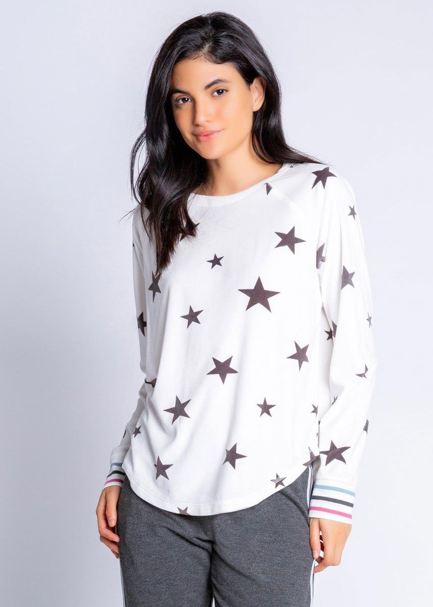 Wishin' On A Star Jammie Top - Ivory